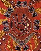 Dingo Aboriginal Art